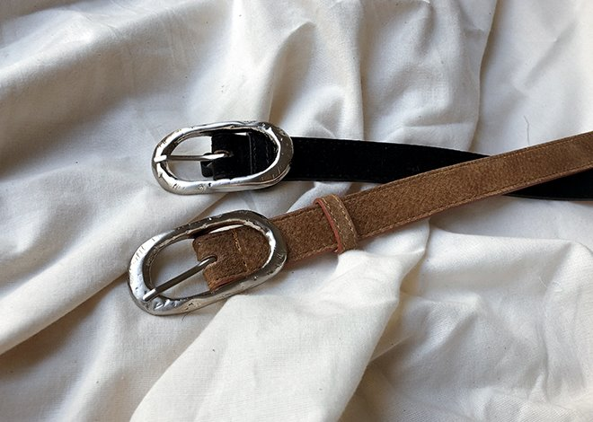 Sella Suede Belt
