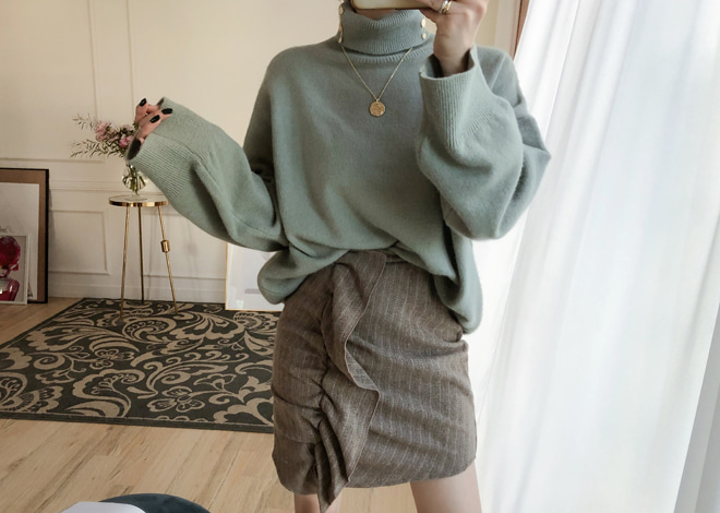 Parsley Pola Knit
