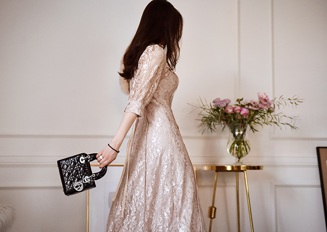 Celia Lace Dress