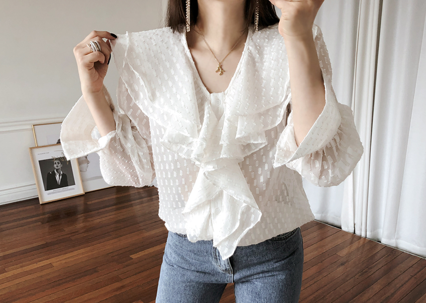 Riley Ruffle Blouse