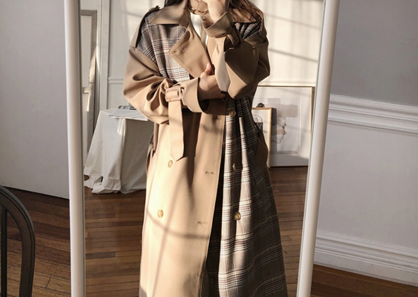 Combination trench coat