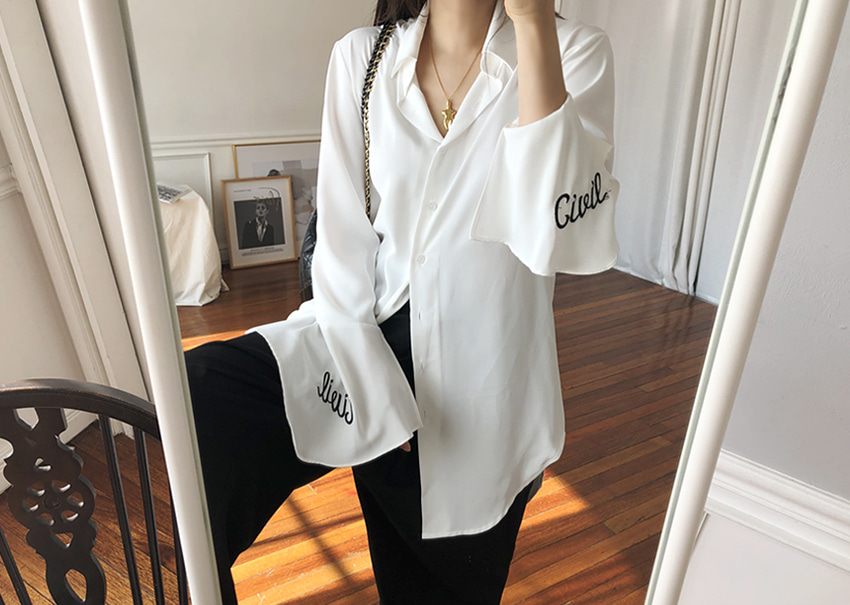 Bianco long shirt