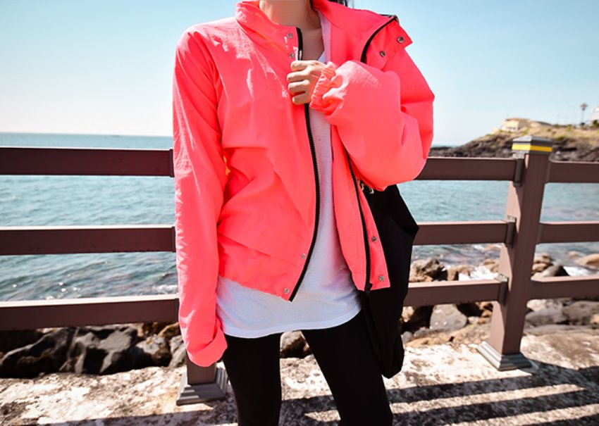 Neon Windbreak Jumper