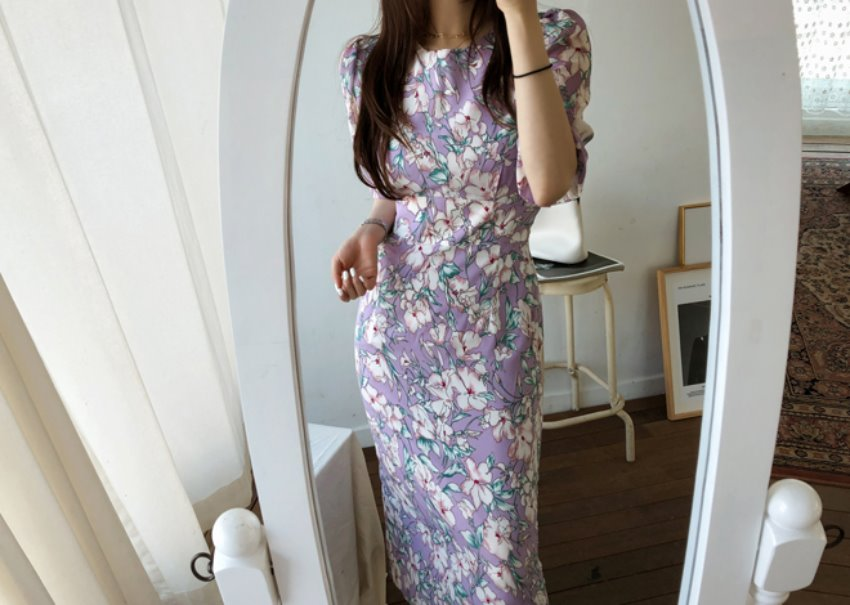 Ladies flower dress