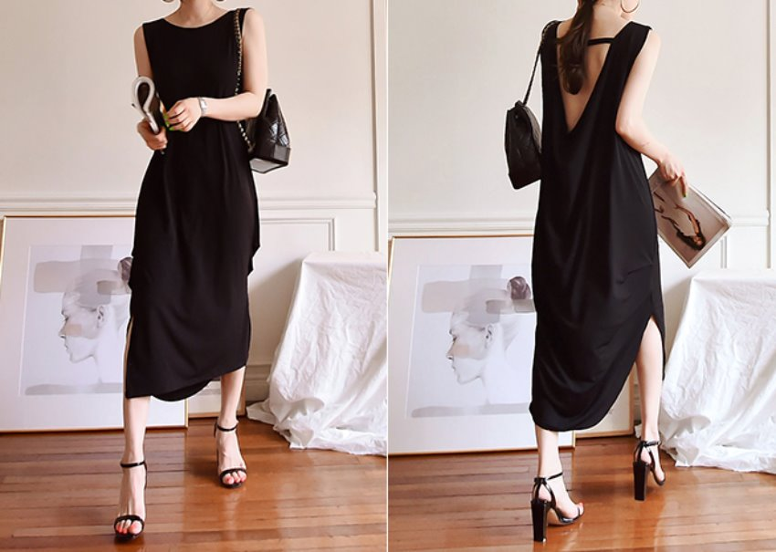 Bali Beach Dress*[black]