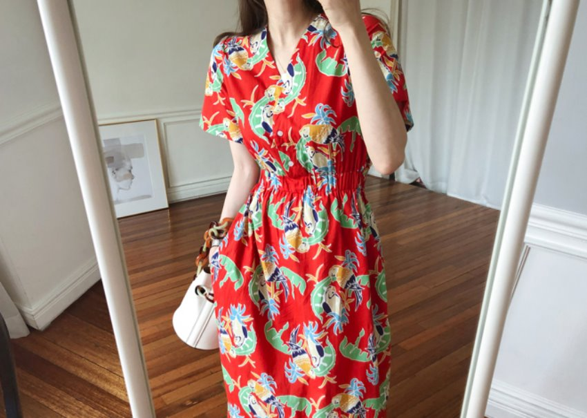 Macau cotton dress