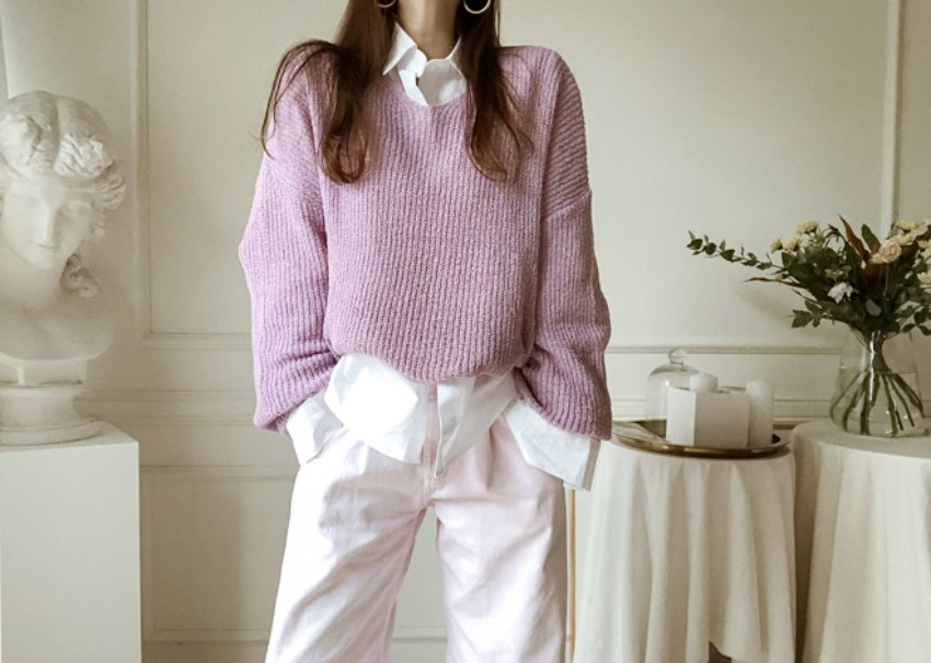 Candy Creamy Knit