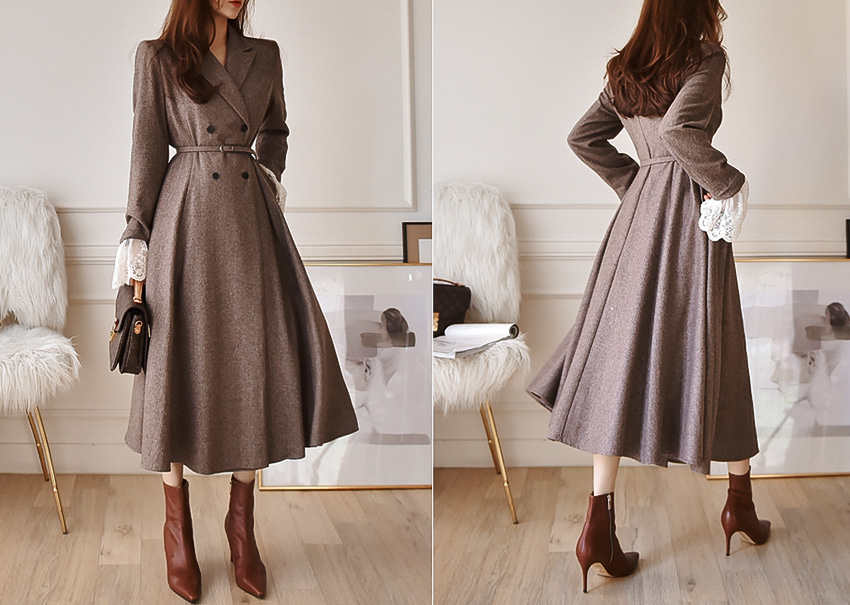 Diana coat dress