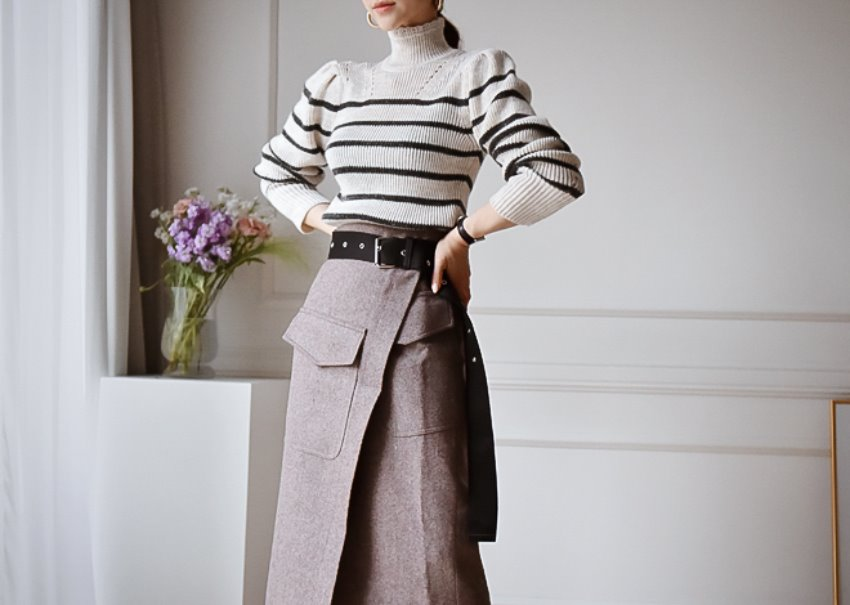 Isabel stripe knit