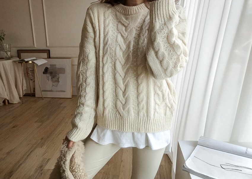 Quattro wool knit