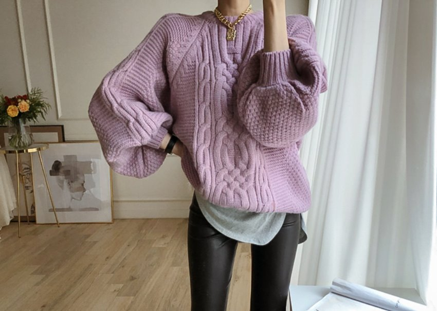 Folio balloon knit