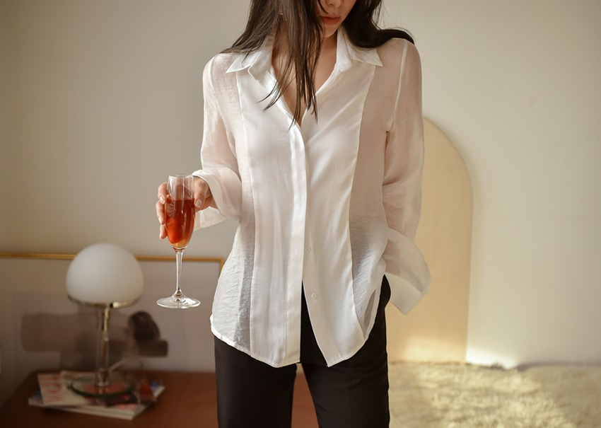 Jude satin blouse