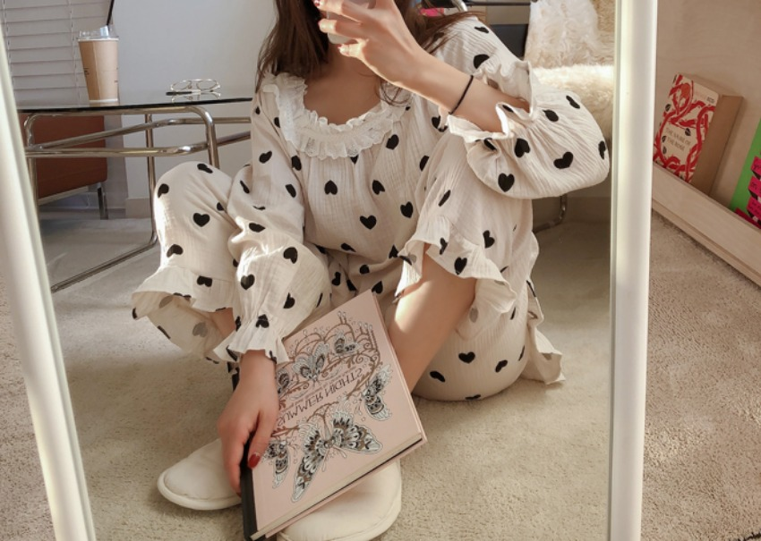 Mini Love Gauze Pajama