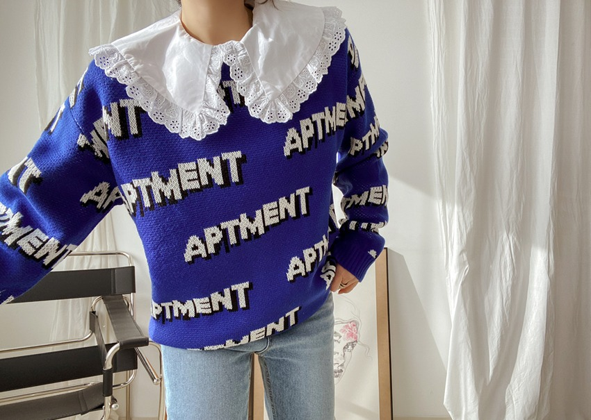 Apartment graphic knit
