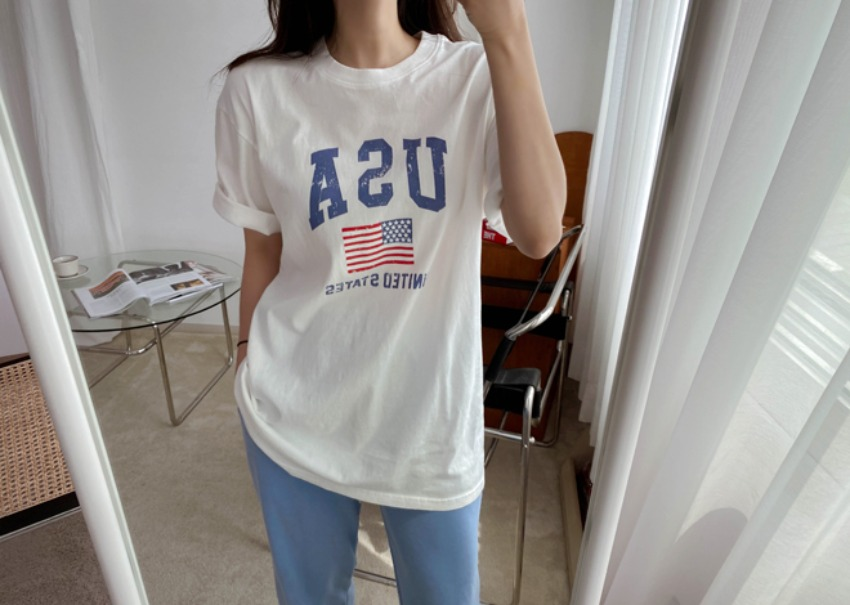 USA Wash T-shirt