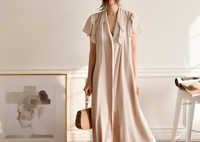 Novella Long Dress