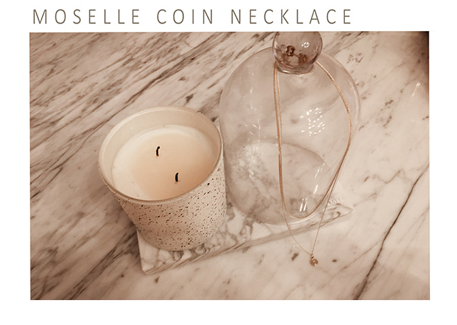 Moselle coin necklace