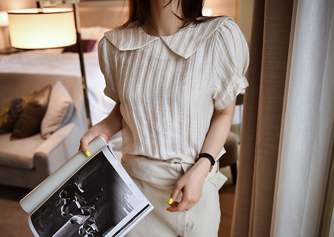 Milk Puff Blouse