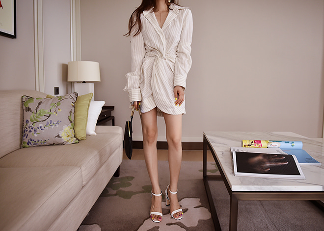 Simon shirt dress