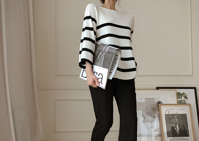Marilyn stripe knit
