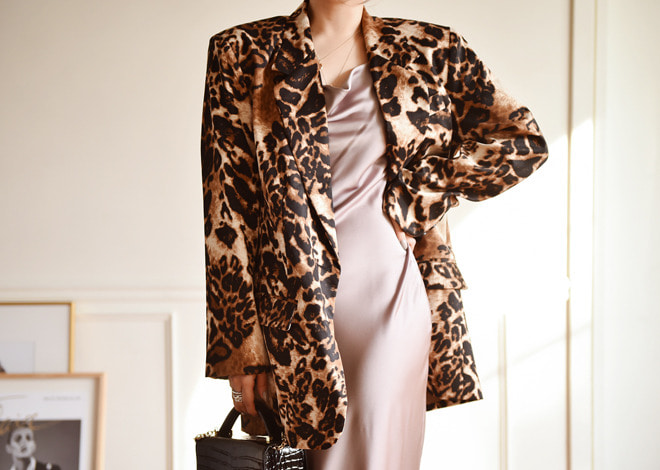 Volly leopard jacket