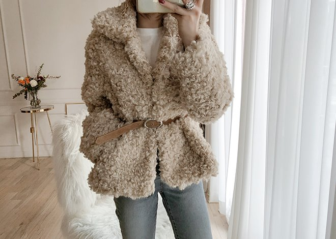Lovely fur jacket