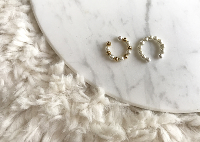 Pearl Mini Ear Cuffs