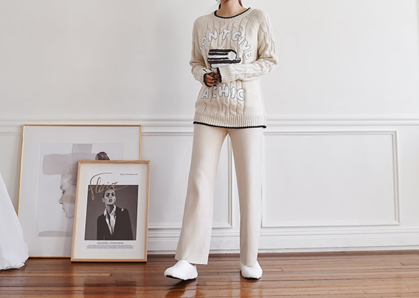 Dolly knit pants