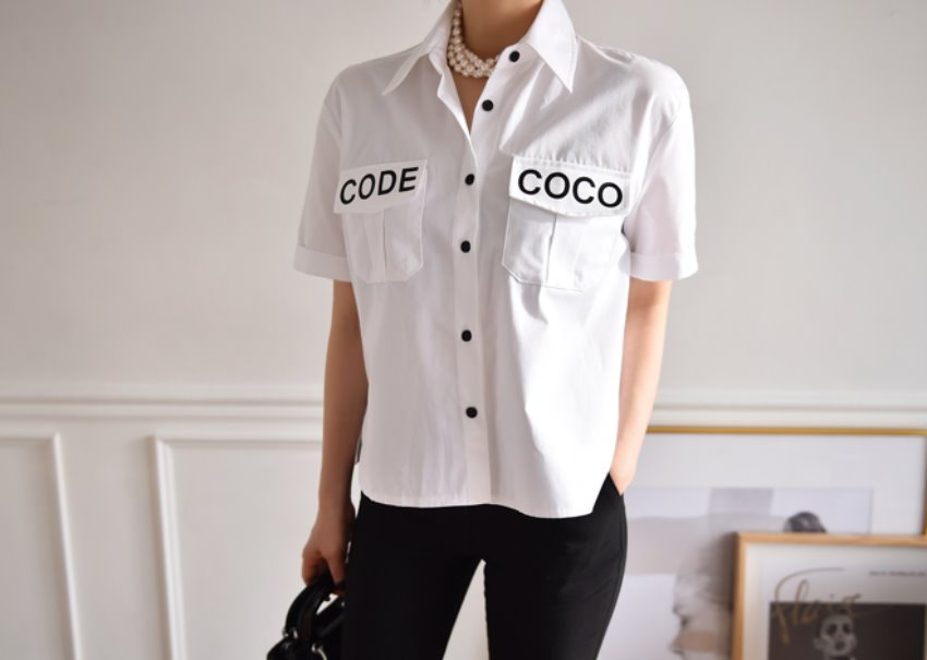 Coco pocket blouse