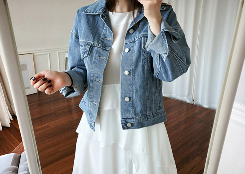 Modern denim jacket