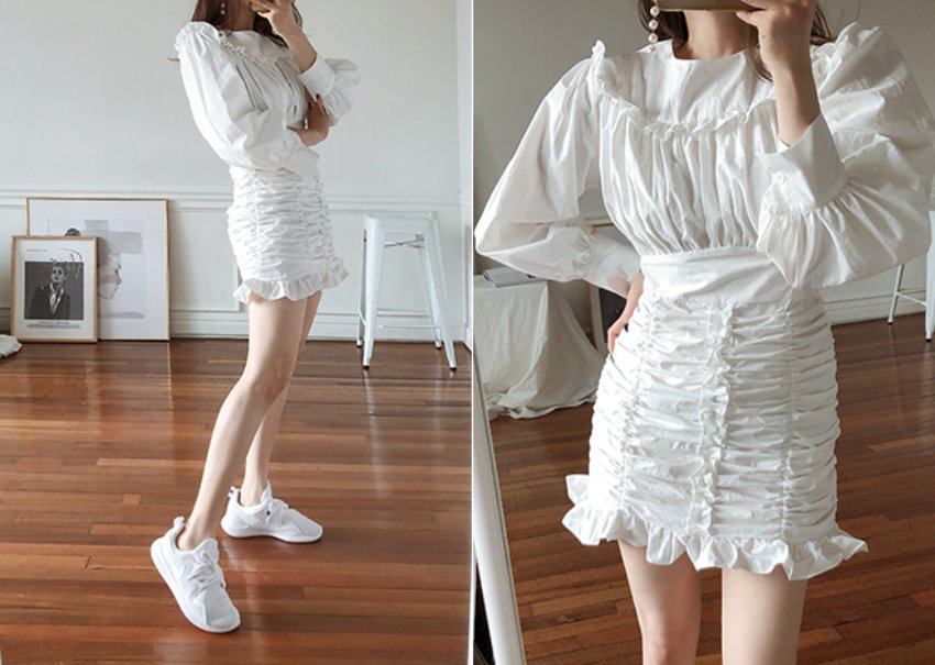 Shearing Mini Dress [2월말 순차출고]