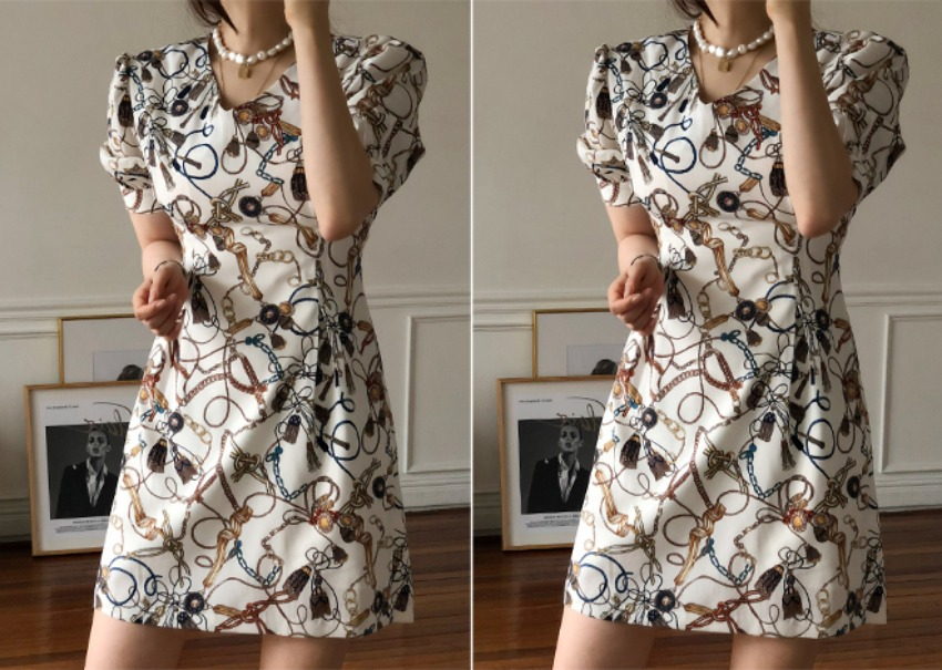 Bottega Mini Dress