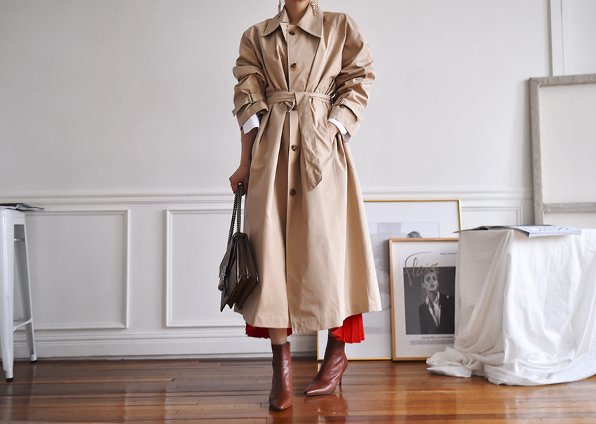 Cecil trench coat