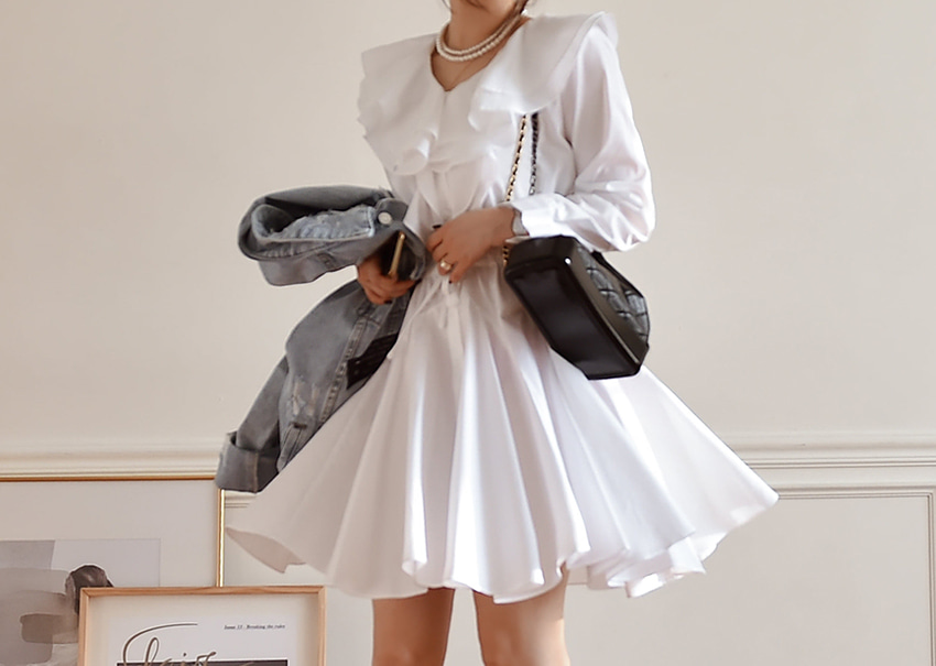 Sailor frill dress