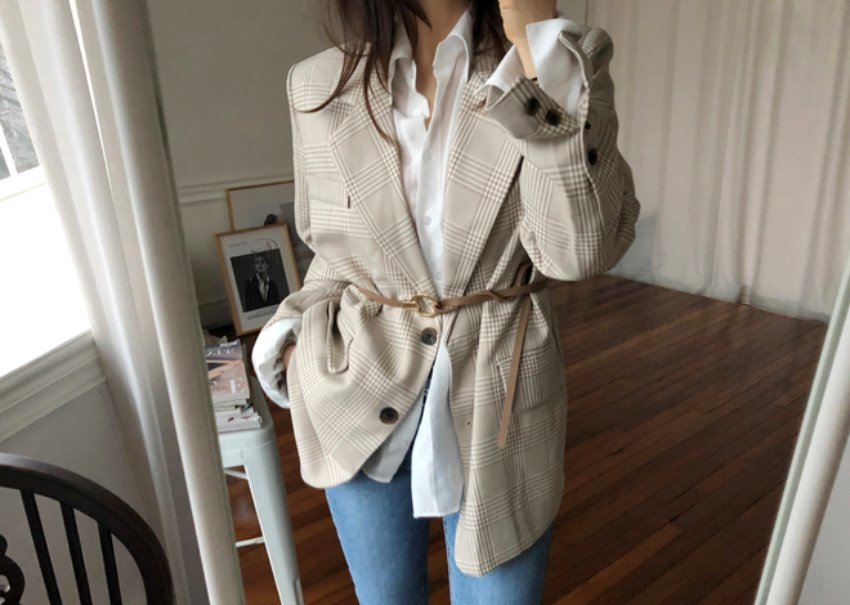 Brandy Belt Jacket