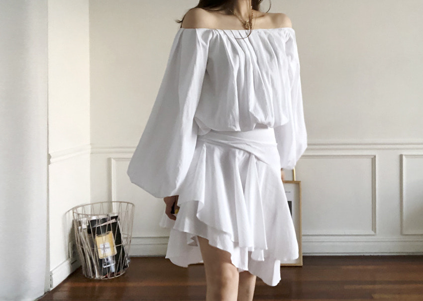Lily frill skirt