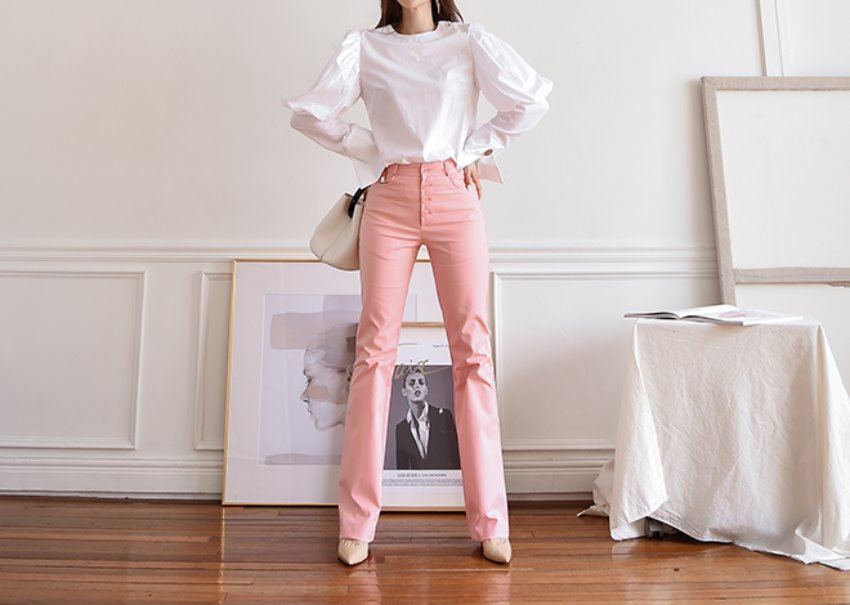 Olivia Button Pants