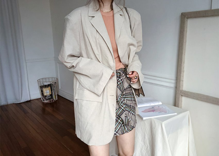 Billy linen Jacket