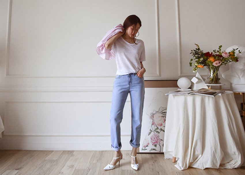 Natallie denim pants