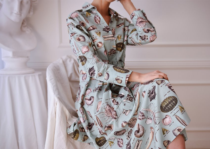 Guylian shirt dress