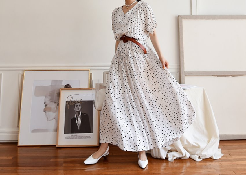 Nomad dot dress