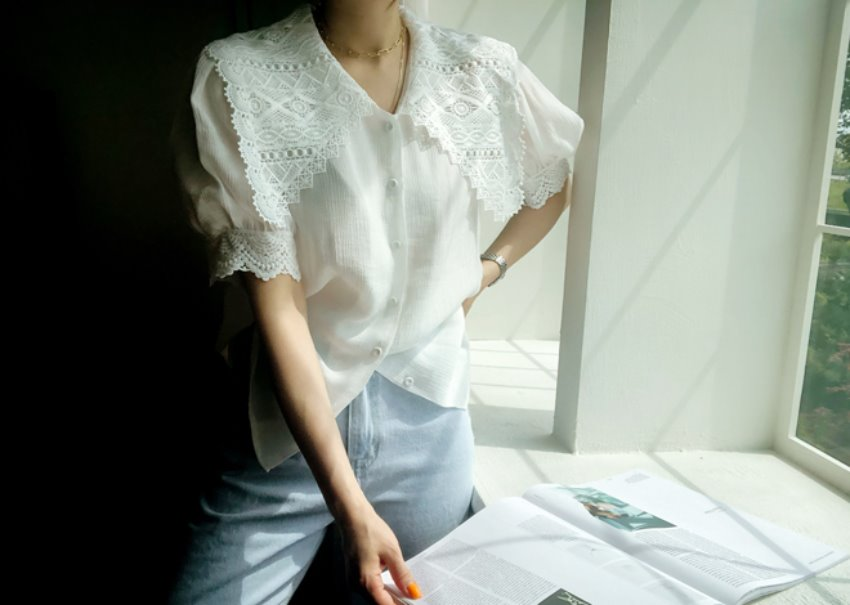 Daisy Lace Blouse