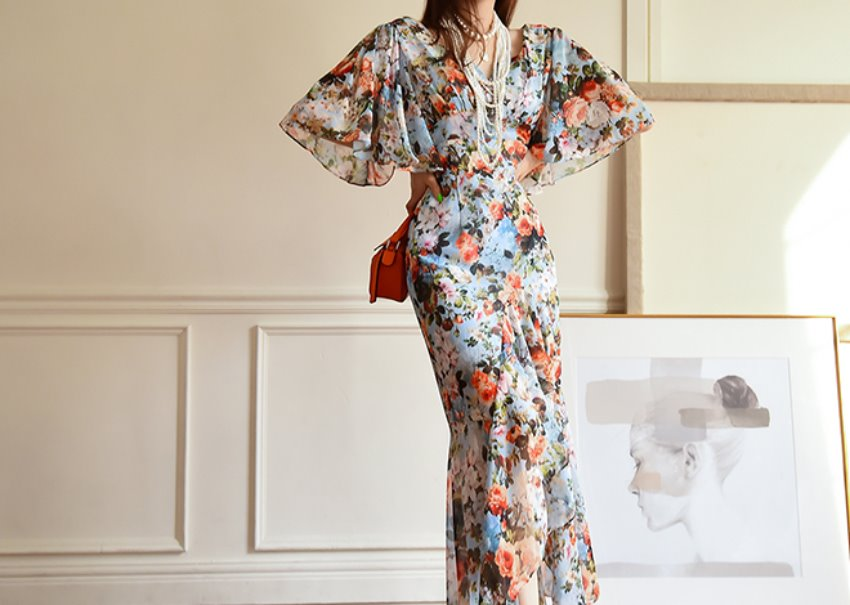 Clarence Floral Dress