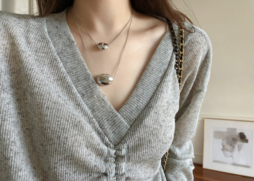 Egg Layered Necklace