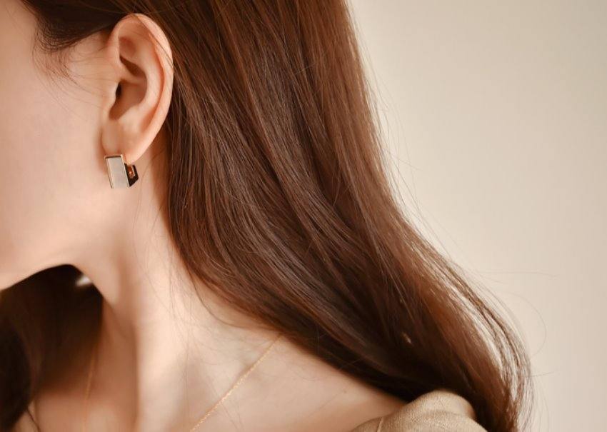Ramon Square Earrings