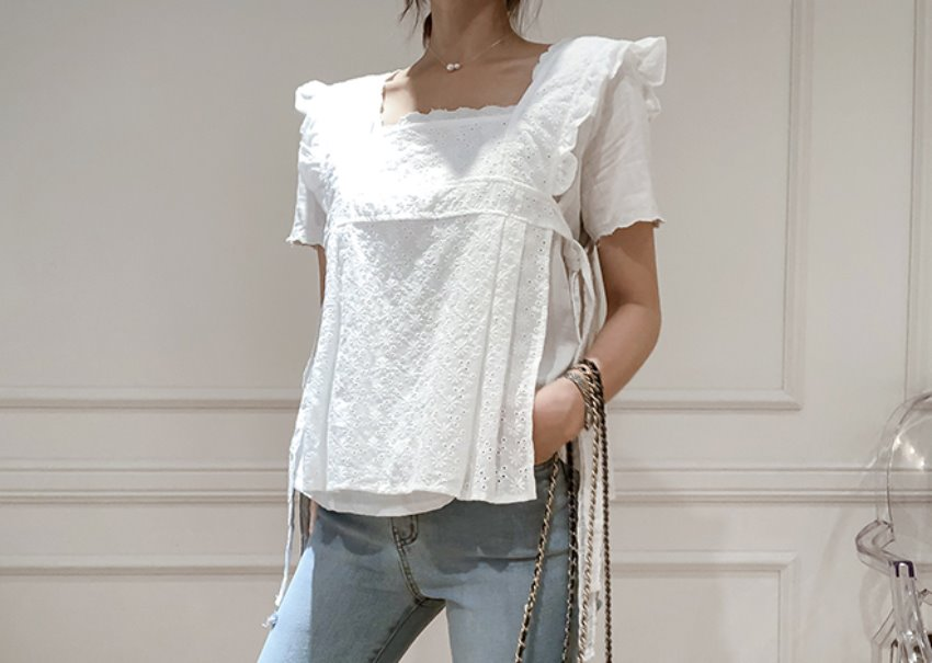 Mariang Lace Top