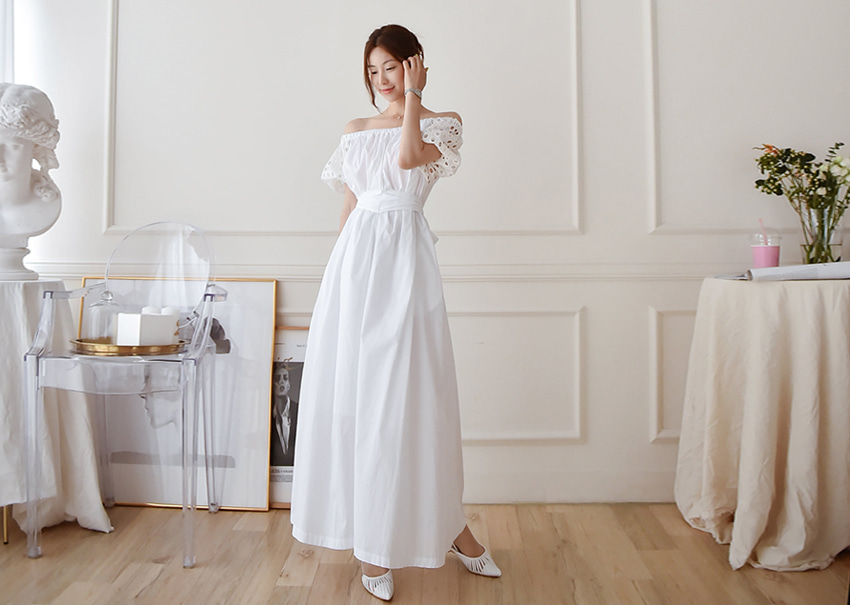Blanche open dress