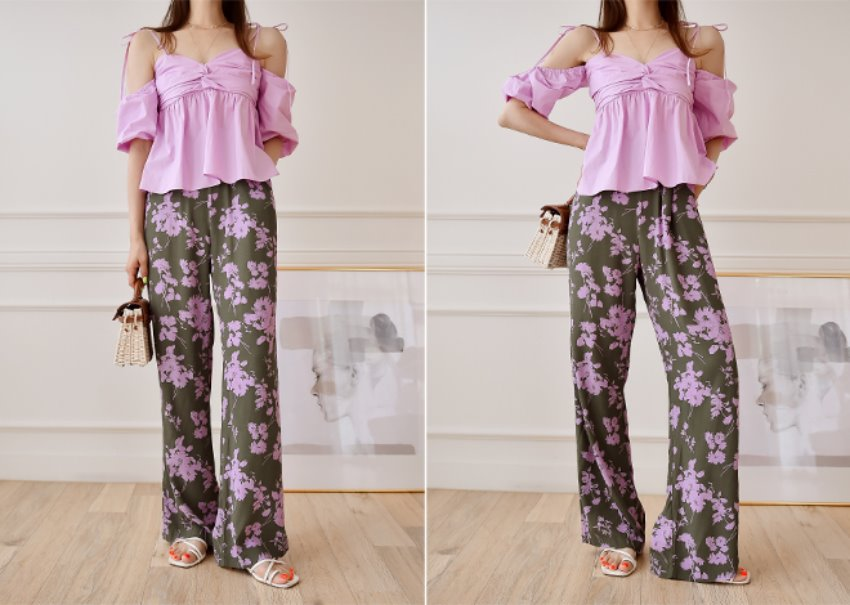 Ione Flower Pants
