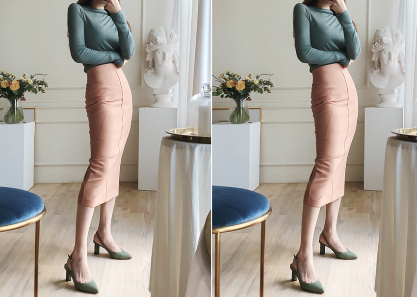 Heim pencil skirt