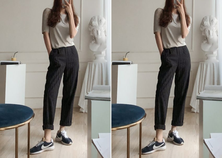 Bonnie stripe pants